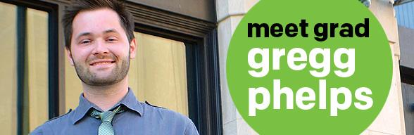 Graphic Design Grad Gregg Phelps