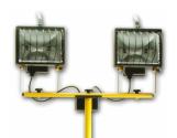 Constructions Lights, SPecs Howard, Lighting on a budget