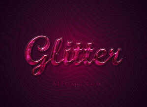 glitter_font