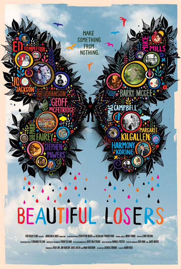 Beautiful Losers, Specs Howard, Graphic, Design