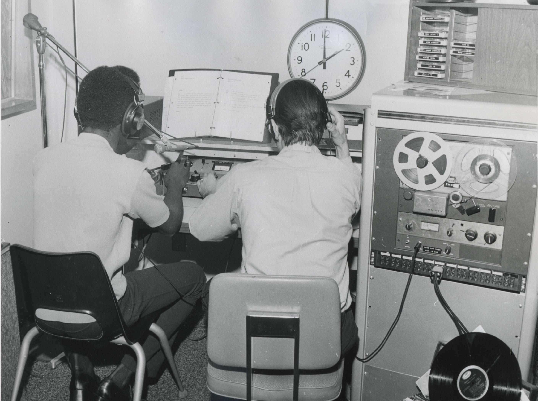 Early 1980 Radio Students in studio.jpeg